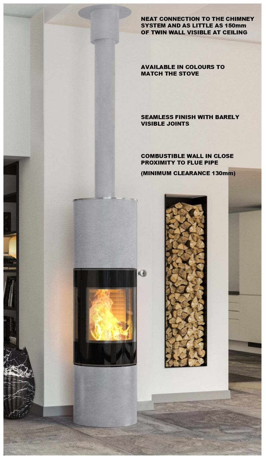 Metaloterm UED Twin Wall Flue System