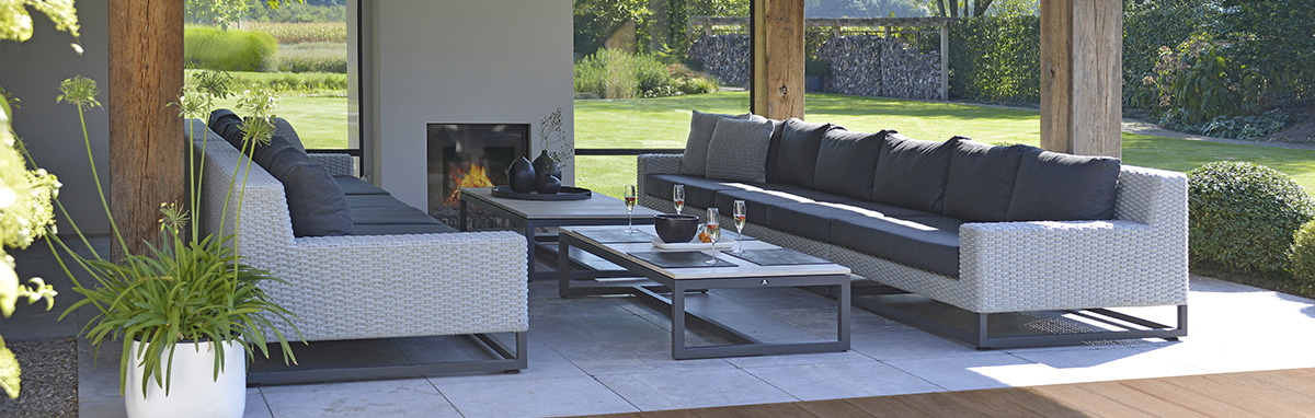 Borek Outdoor Furniture Aluminium / Stainless Steel Furniture