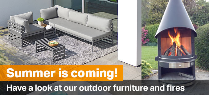 Outdoor furniture and fires from Robeys