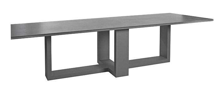 The Borek Evora table, available from Robeys in Derbyshire