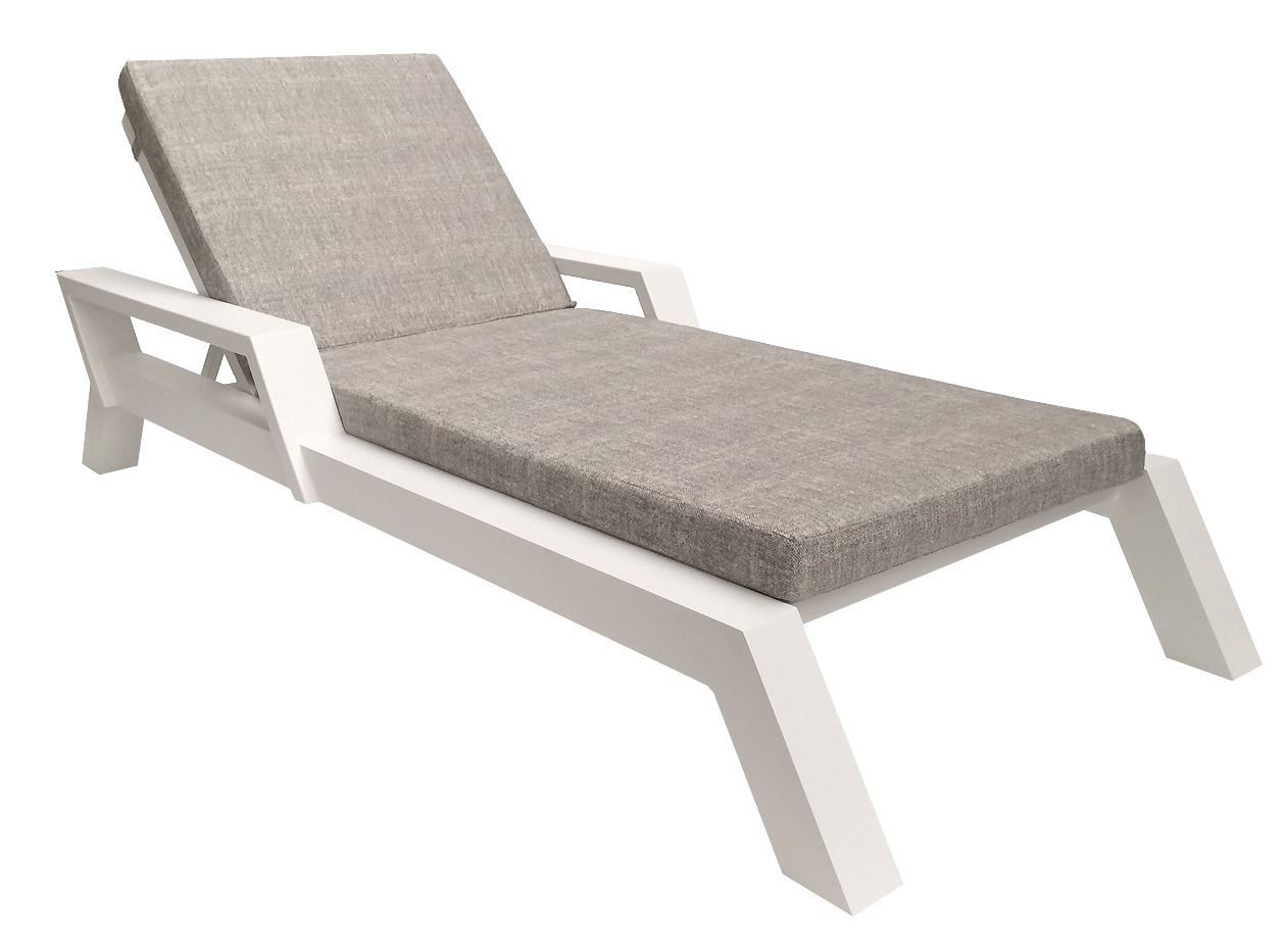Borek Viking Aluminium Lounger Outdoor Furniture