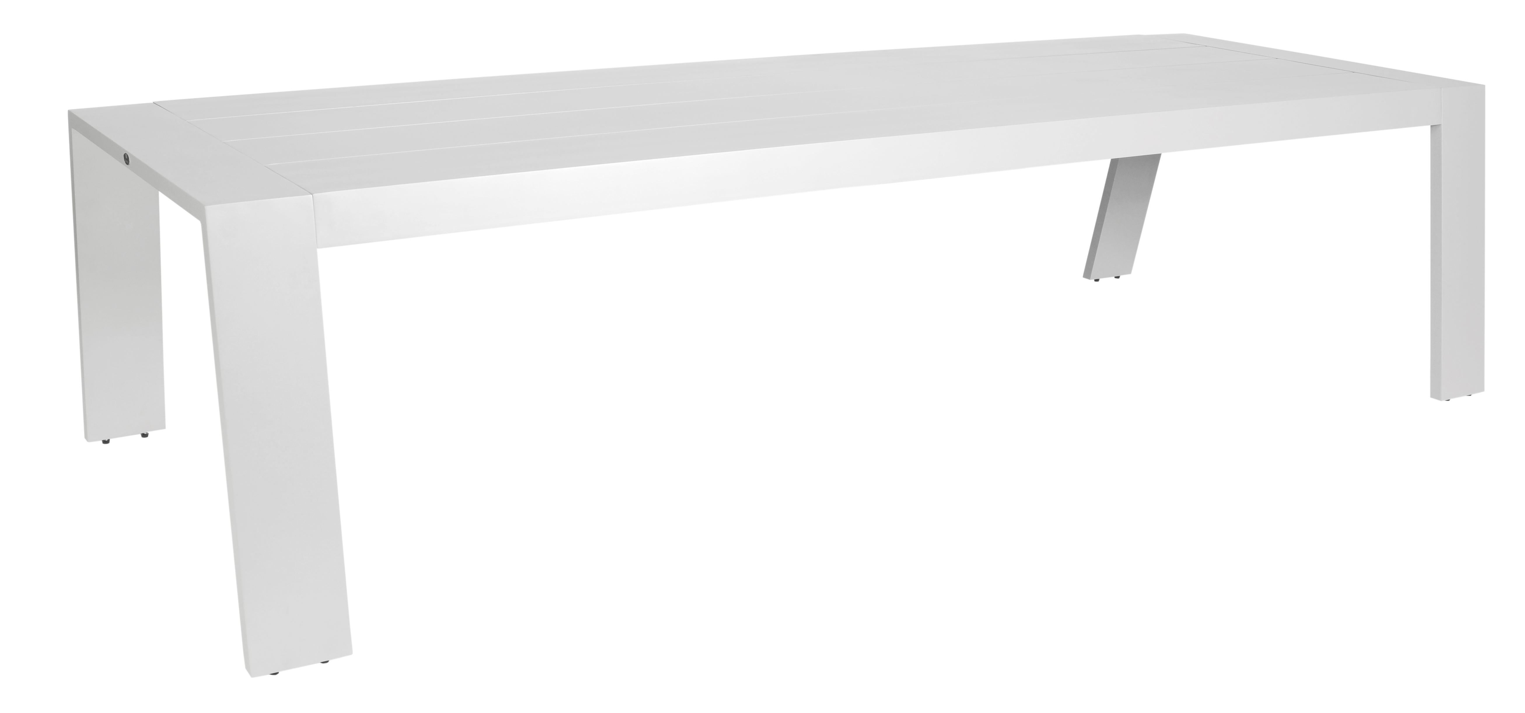 borek aluminium low dining table 7147
