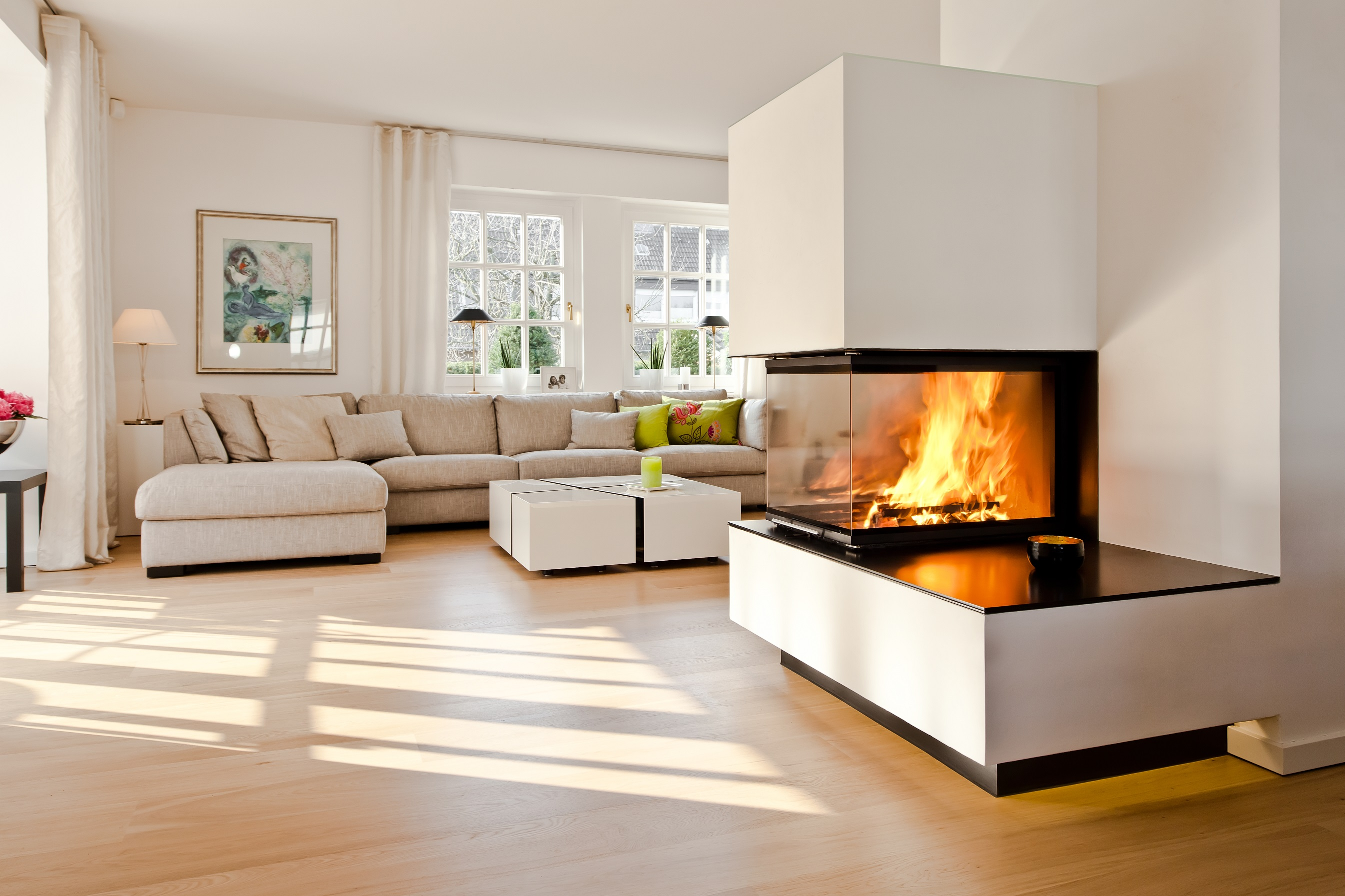 three sided fireplace amazing google image result for with three