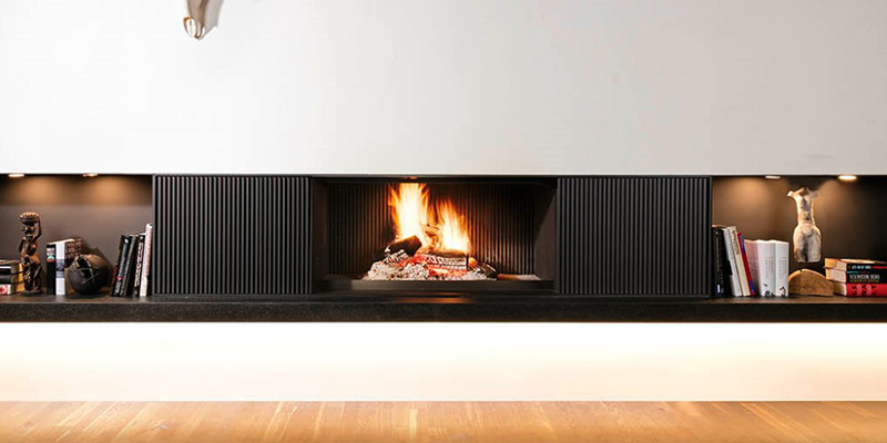Brunner Urfeuer Open Wood Burning Fire