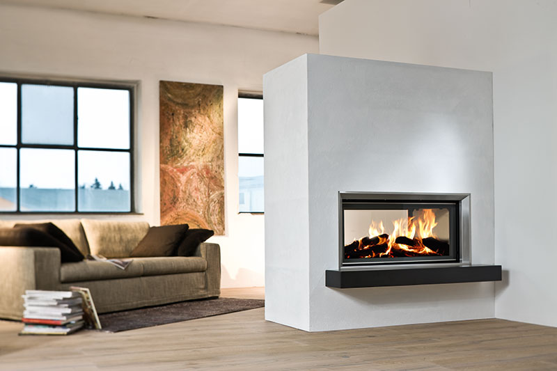 The Architecture Wood Burning Tunnel Fireboxes come in a variant of sizes starts at the 38 x 86 tunnel. A stylish paneled firebox. Size - 45 / 101