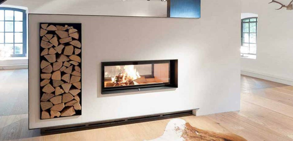 The Architecture Wood Burning Tunnel Fireboxes come in a variant of sizes starts at the 38 x 86 tunnel. A stylish paneled firebox.