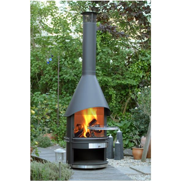 Outdoor Fireplaces from Robeys in Derbyshire on Quillen Steel Outdoor Fireplace id=82407