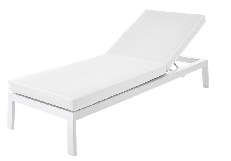 This range of outdoor seating including sofas and dining chairs comes in variety of options including a traditional wooden finish, subtle anthracite grey or brilliant white. - Adjustable Lounger