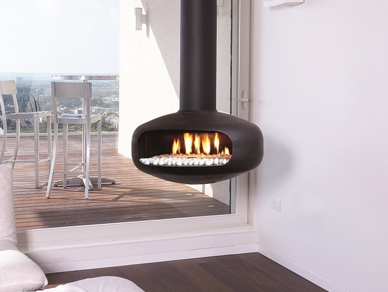 Ortal Oval Hanging Gas Fire