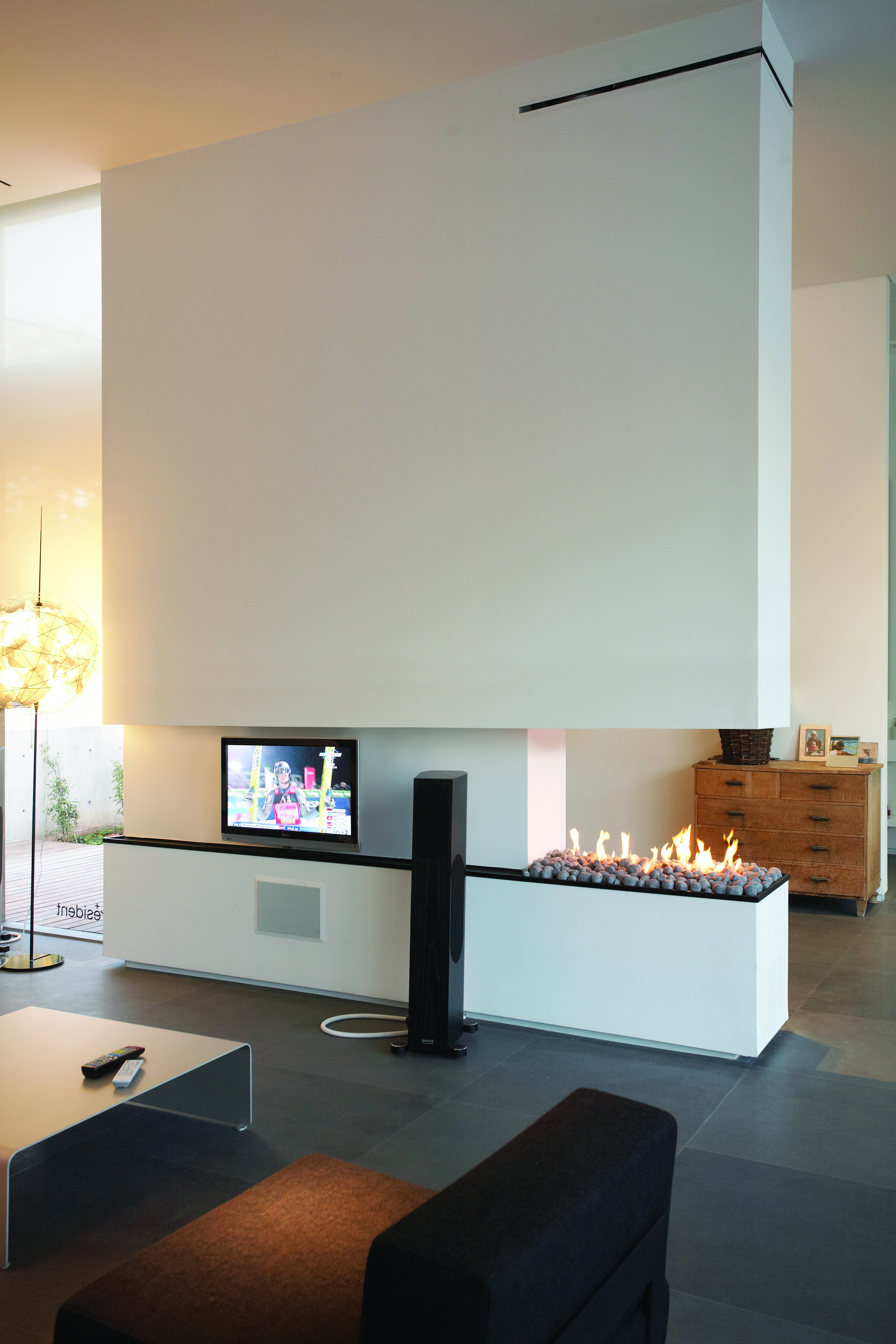 ortal space creator 150 three sided gas fireplace from robeys