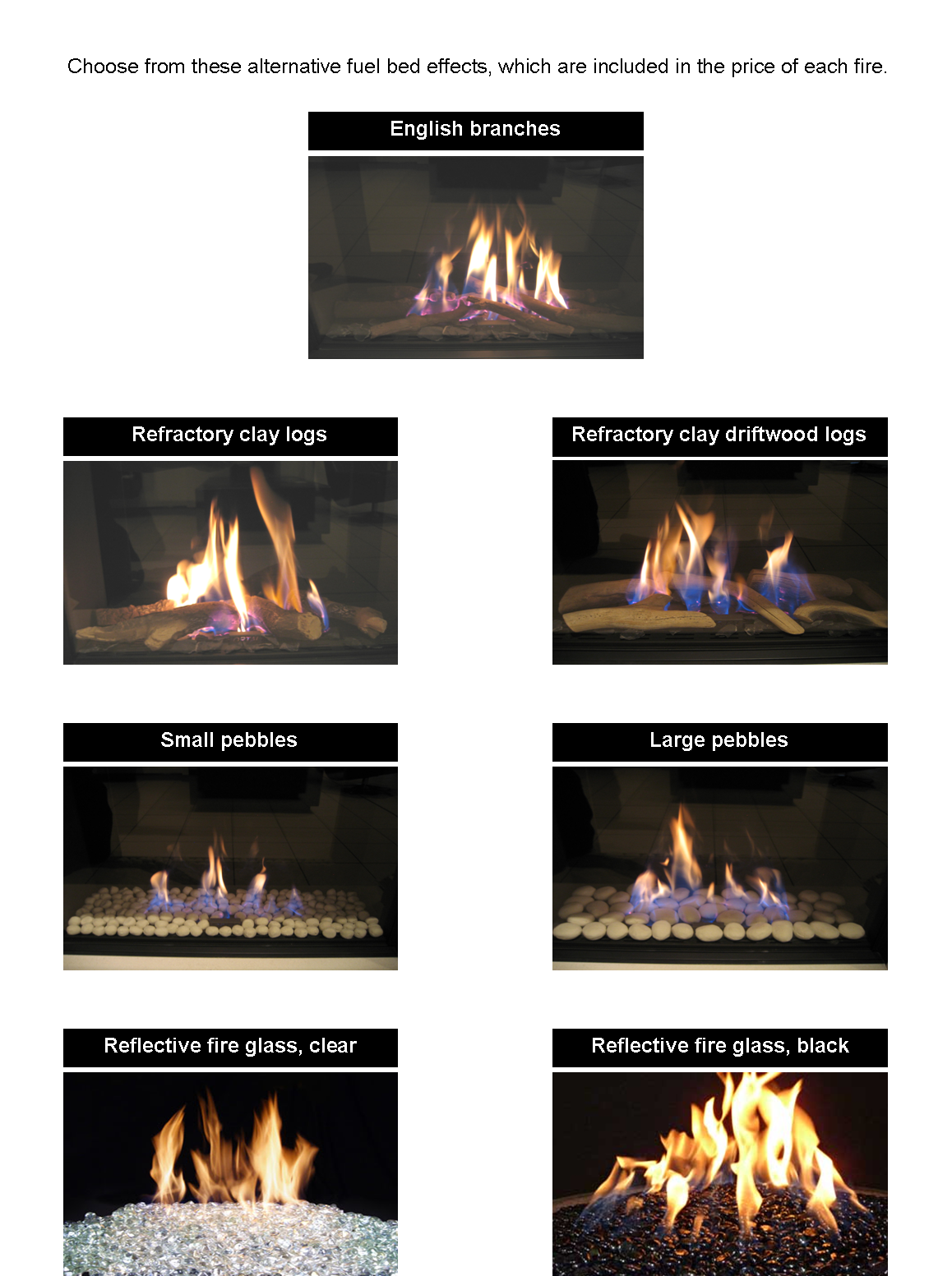 fire bed details