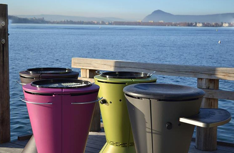 Outdoor cooking systems from Cookout by Outsign