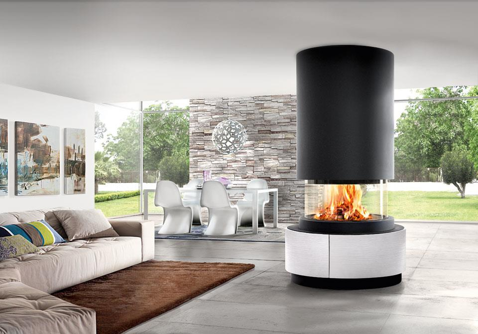 Contemporary-Modern-Glass-Panoramic-360-Wood-Burning-Fire-Piazzetta-Oslo