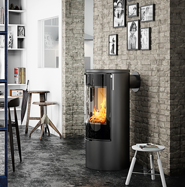 Viva L 100 5kw Wood Burning Stove
