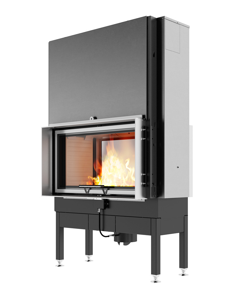 Rais Visio tunnel 2:1 stove 2 sided lifting door