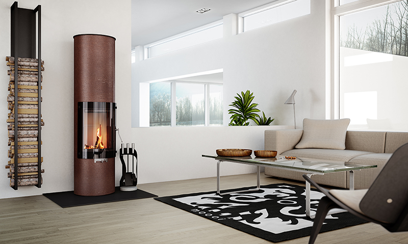 Contemporary-Modern-Glass-Fronted-Wood-Burning-Fire-Rais-Pilar-5kw