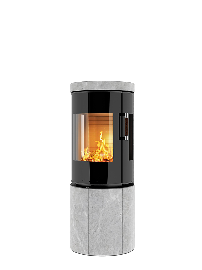 Contemporary-Modern-Glass-Fronted-Wood-Burning-Fire-