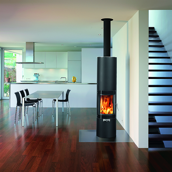 Contemporary-Modern-Glass-Fronted-Wood-Burning-Fire-pilar