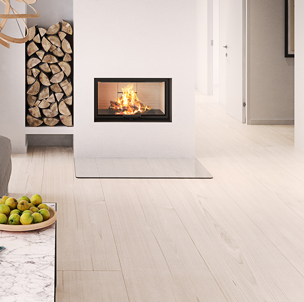 Rais Visio 1 Inset Fireplace 7kw from Robeys
