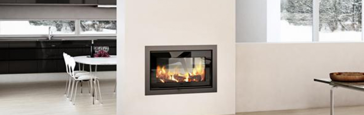 Rais – 2-1 Double Sided 6kw Wood Burning Insert Fire