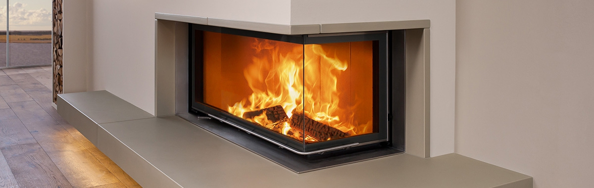 Brunner – Wood Burning Corner Fireboxes