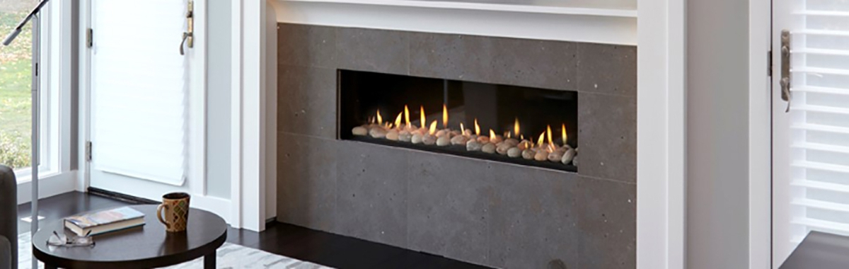 Ortal – Clear 75x65 Front Facing Glass Fronted Gas Fire