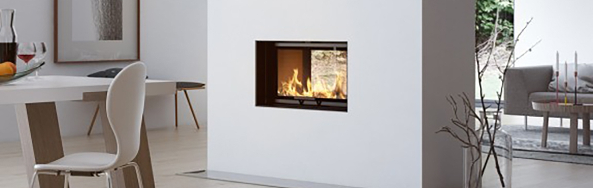 Rais – Visio Tunnel 2:1 Inset Wood Burning Fireplace 6kW