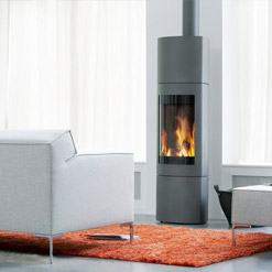 Harrie Leenders – Doran Rotatable Wood Burning Stove
