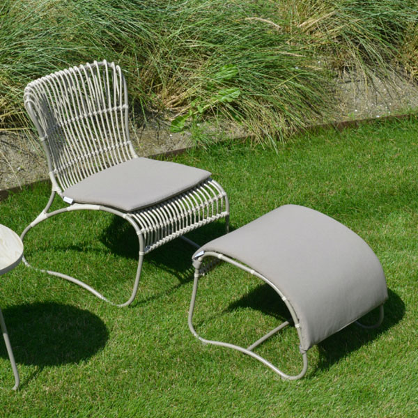 Max & Luuk Outdoor Furniture – Emma Chair and Ottoman - Summer Ready Offer