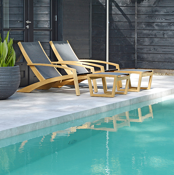 Borek Outdoor Furniture – Luxx Teak Collection - NEW for 2020