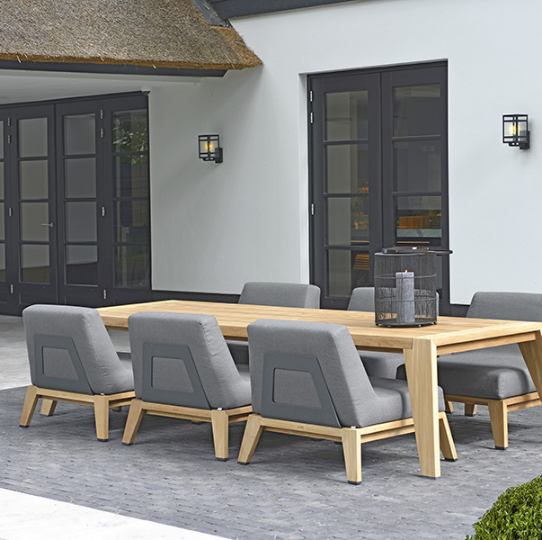 Borek Outdoor Furniture – Hybrid Teak Collection - NEW for 2020