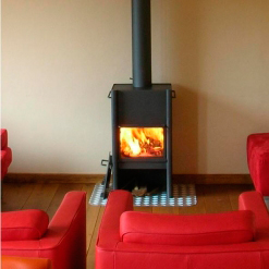 HL2 Wood Burning Stove Anthracite - EX Showroom
