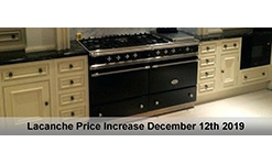 Lacanche Price Increase 12th December 2019