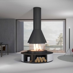 Dundee Panoramic Fireplace - NEW for 2020