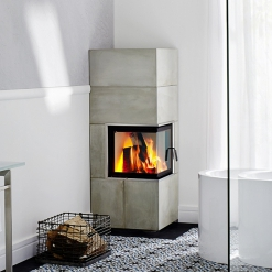 Corner 2 Sided Fireplaces