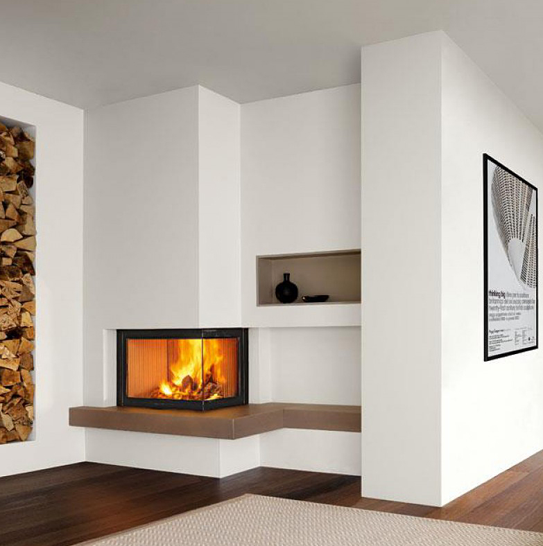 Piazzetta – Bristol Fireplace suitable for Wood