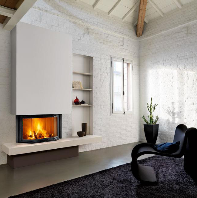 Piazzetta – Cardiff Fireplace suitable for Wood