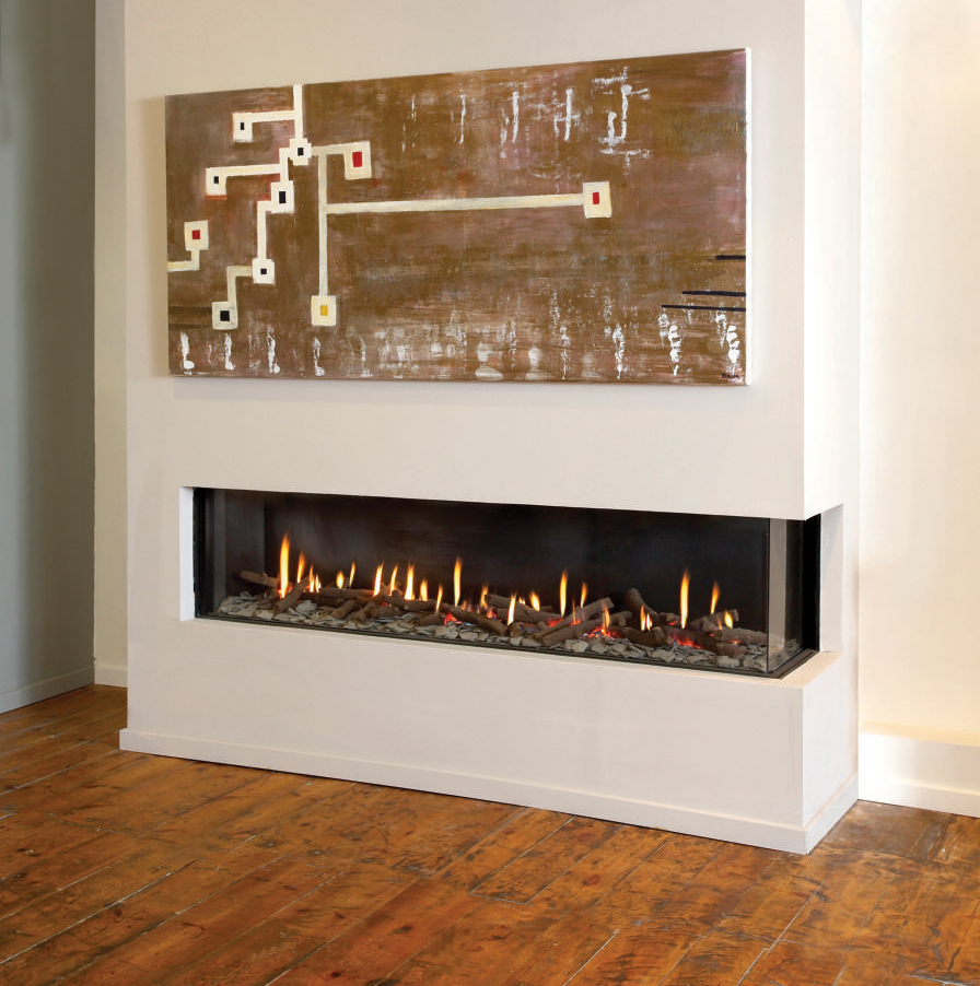 Ortal – Clear 200 Corner Gas Fire