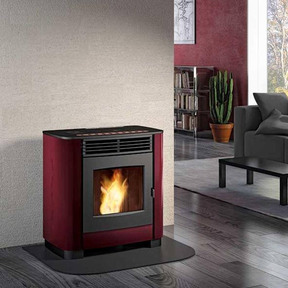 Burning Wood Biomass Pellets ~ Piazzetta superior gioia wood pellet burning stove