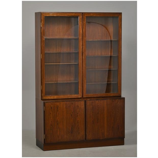 Miscellaneous – Glazed Rosewood Bookcase