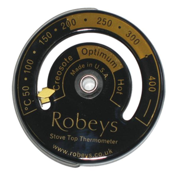 Robeys – Stove Thermometer with Gold Detailing