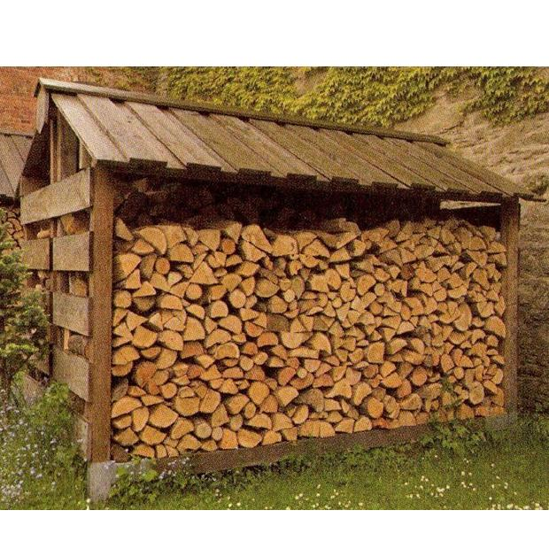 Clearview – Large Double Outdoor Log Store