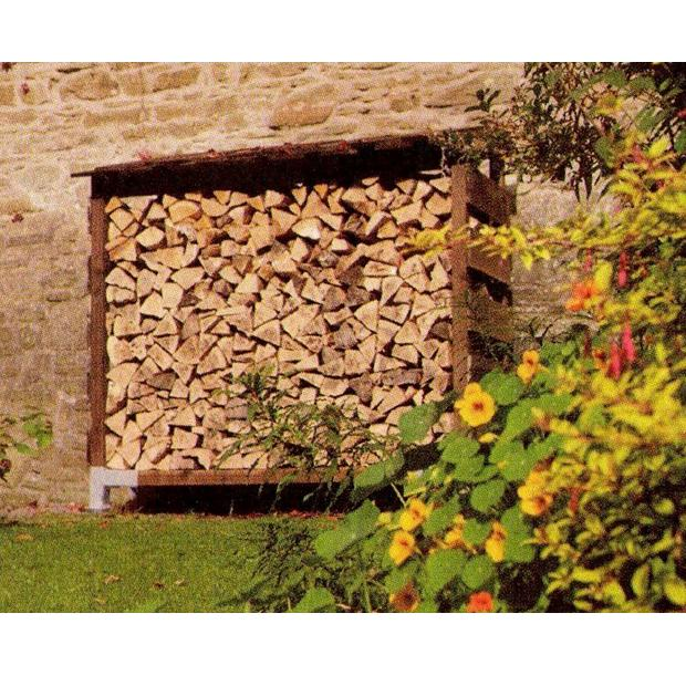 Clearview – Medium Single Outdoor Log Store