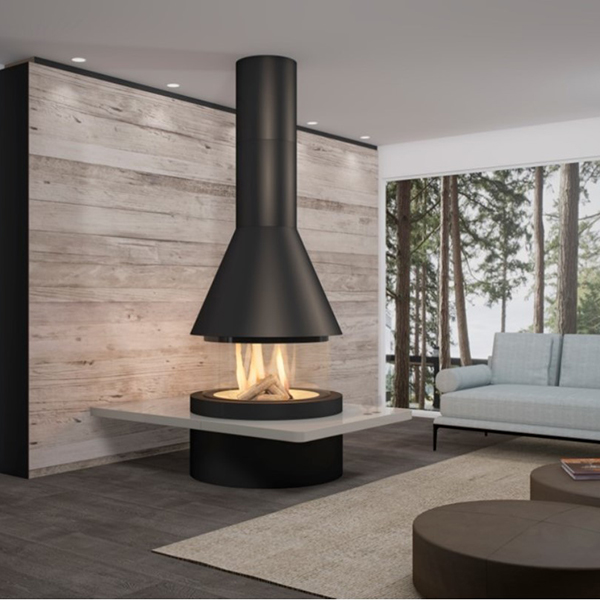 Panoramic – Oban Panoramic Fireplace - NEW for 2020