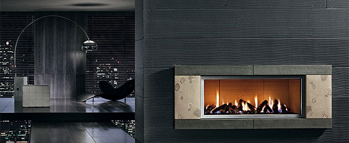 Piazzetta – Design Archeo Fireplace suitable for Wood or Gas