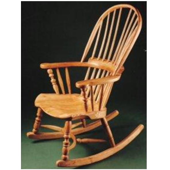 Miscellaneous – Broad Arm Rocking Chair