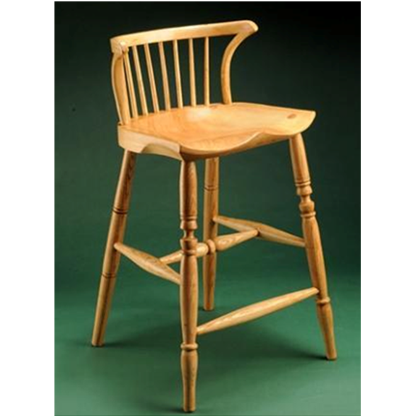 Miscellaneous – High Stool with Low Back