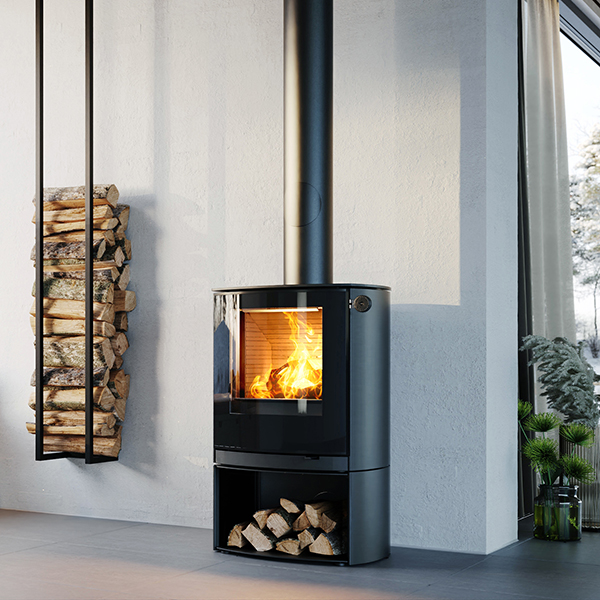 RAIS – NEW Q-TeeC ( Curved )  5kw Wood Burning Stove - NEW FOR 2020