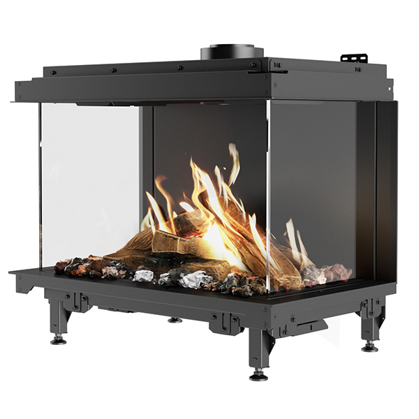 RAIS Gas – Visio 70 / 43 / 39 3S Three Sided Built In Gas Fire