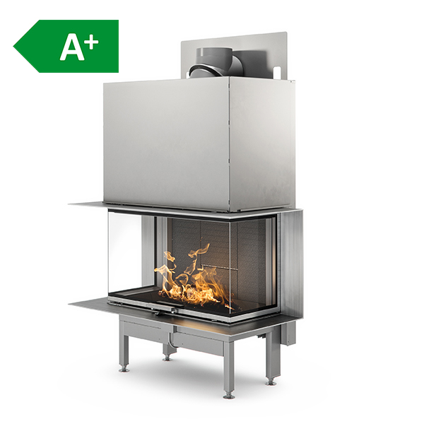 RAIS – Visio 3 LARGE  Three Sided Insert Fireplace 10.3kW